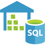 Microsoft Azure SQL  DW logo