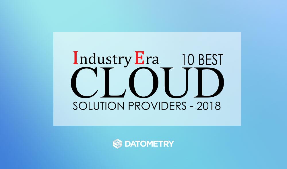 Industry Era 10 Best Cloud Solution Providers badge